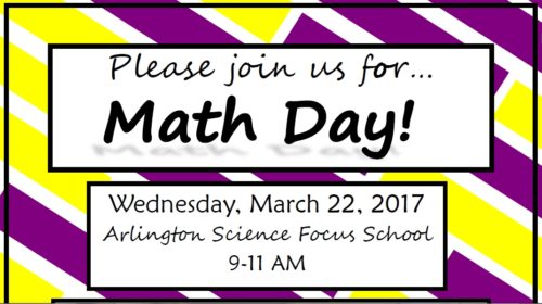 ASFS Math Day March 22nd