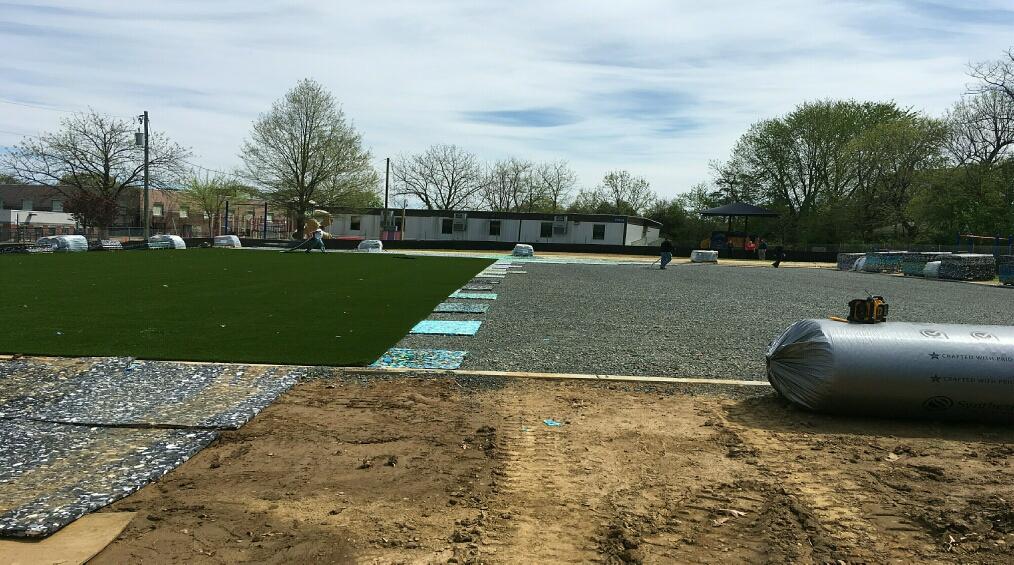 ASFS New Field Begins Arriving