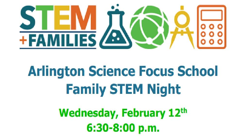ASFS STEM Night Feb 12th