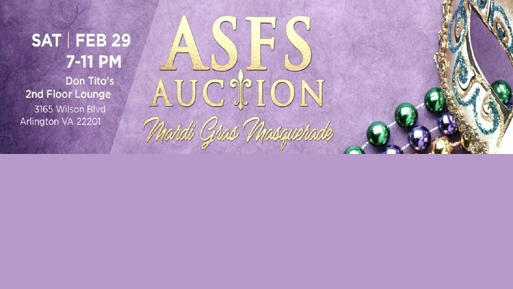 ASFS Annual PTA Auction 2020