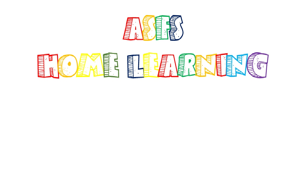 ASFS Home Learning